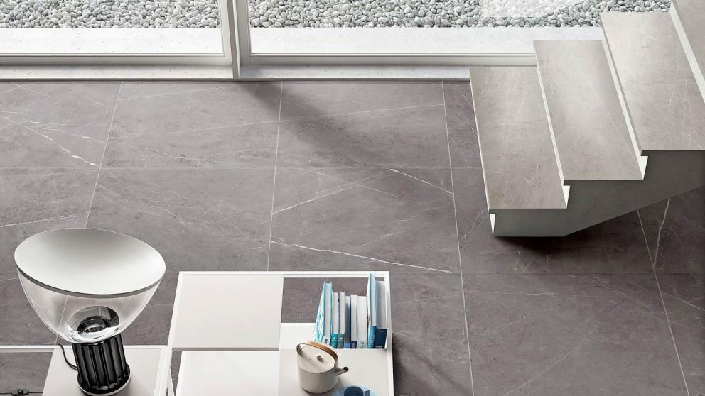 Euro Marble Pietra Grey 600x600mm Floor Tile