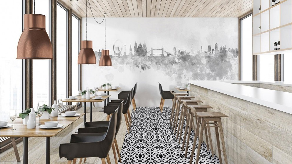 Clasico Cosenza Gris 225x225mm Matte Floor Tile