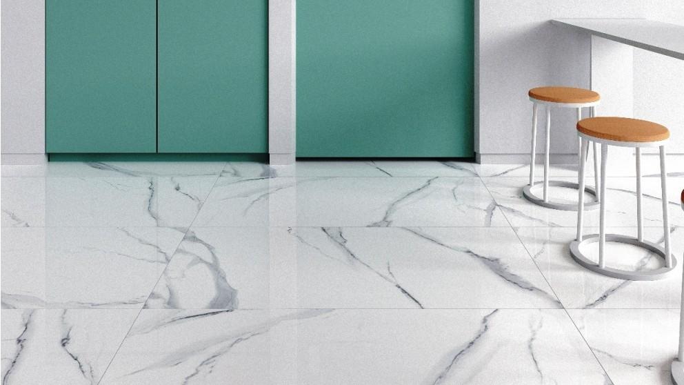 New Carrara 600x1200mm Polished Porcelain Tile