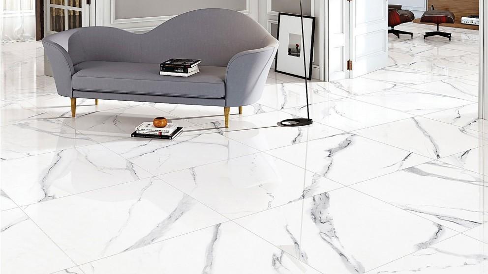 New Carrara 300x600mm Polished Porcelain Floor Tile