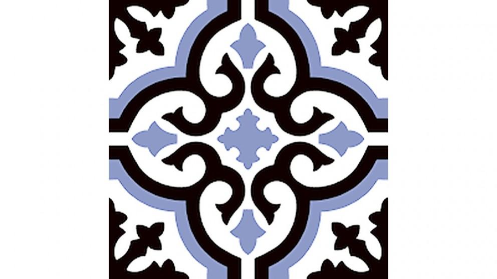 Clasico Cosenza Azul 225x225mm Matte Floor Tile