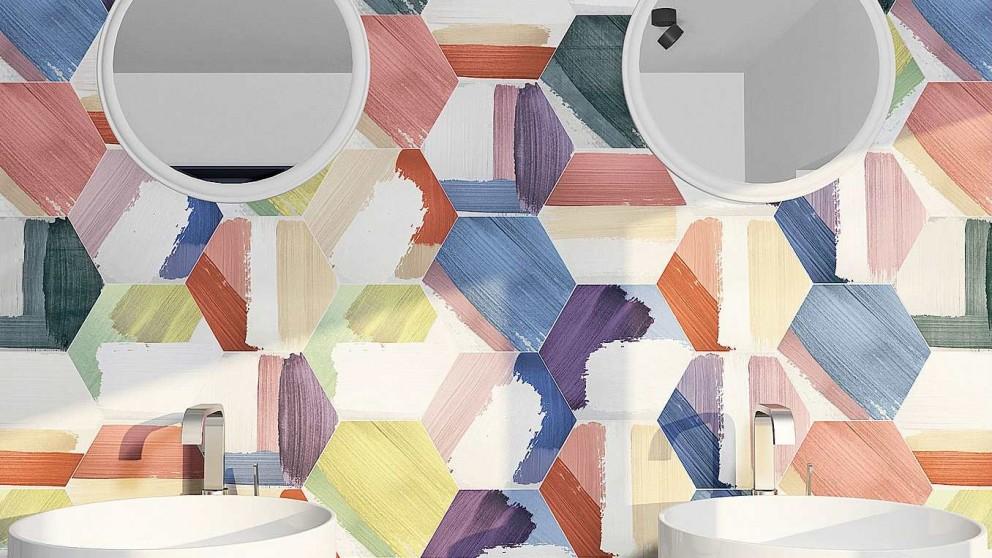 Rothko 250x220mm Wall Tile