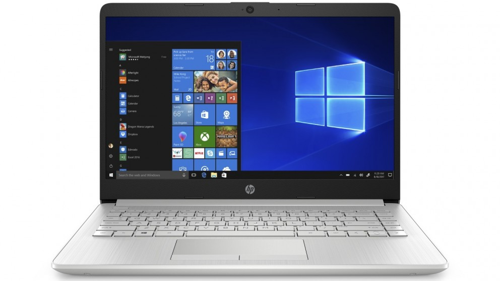 HP 14-inch Celeron/4GB/64GB eMMC Laptop - Natural Silver
