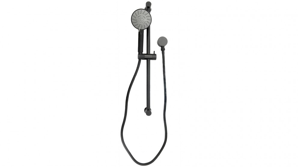 Parisi Play Hand Shower on Rail - Matte Black