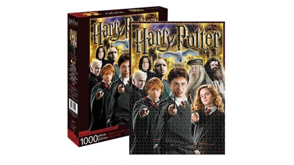 Harry Potter Collage 1000-Pieces Puzzle