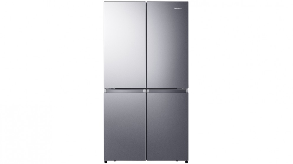 Hisense 670L Pure Flat Stainless French Door Fridge