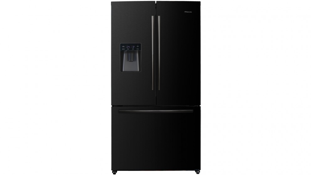 Hisense 630L French Door Fridge - Black Steel