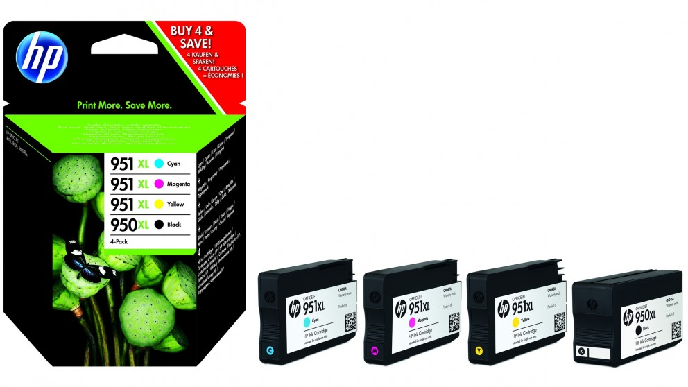 HP 950 XL & 951 XL Mega Pack Ink Cartridge