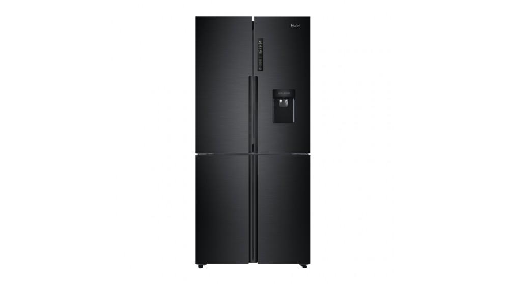 Haier 565L Quad Door French Door Fridge - Black