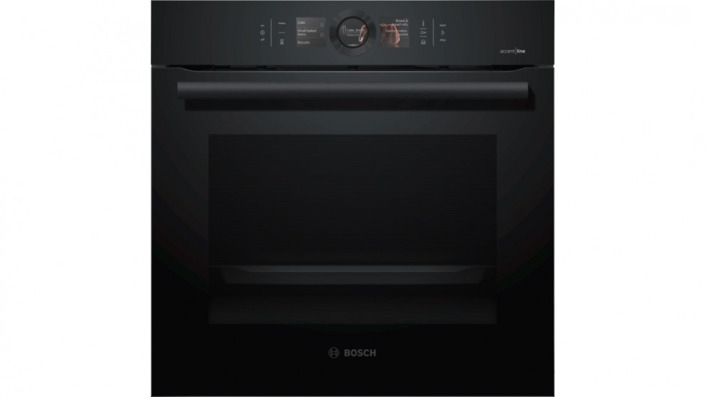 Bosch 600mm AccentLine Built-in Pyrolytic Oven with Added Steam Function