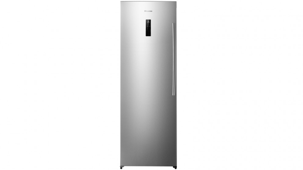 Hisense 254L Single Door Veritical Freezer - Stainless