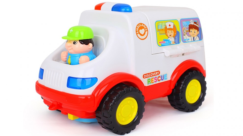 Hola Toys Light Learning Ambulance