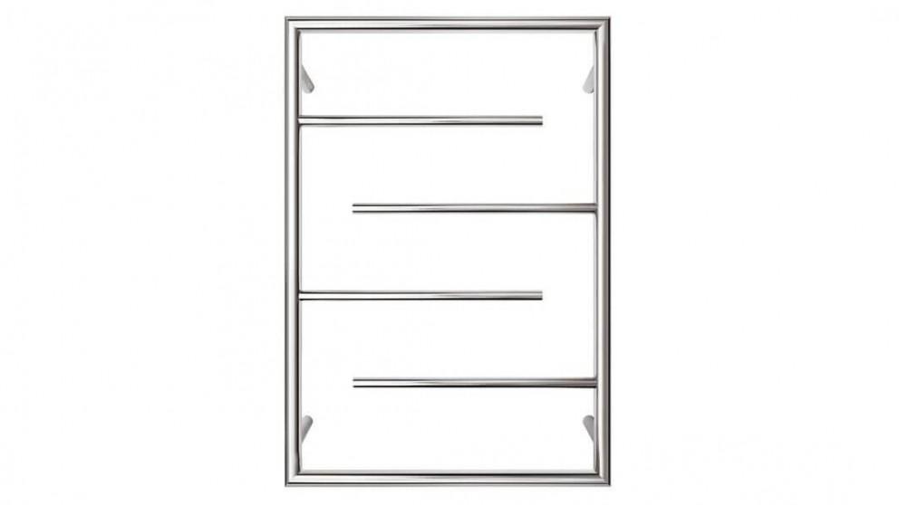 Forme Frame 4 Bar Round Heated Towel Rail