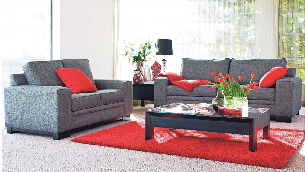 Living room furniture australia hudson 3 seater fabric for 7 seater living room set