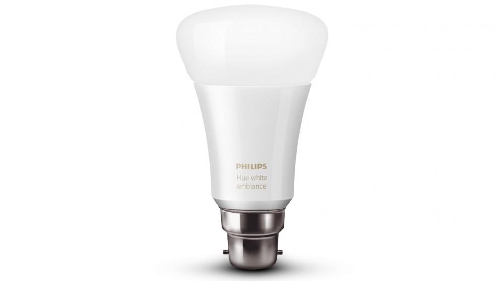 Philips Hue Ambiance B22 Single LED light Bulb