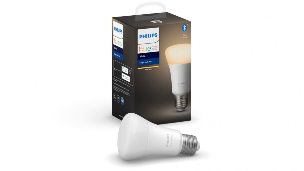 Philips Hue White 9W A60 E27 Bulb with Bluetooth