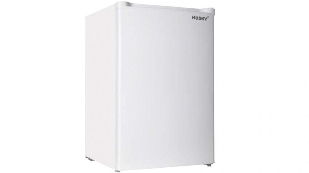 Husky 92L Solid Door Bar Freezer - White