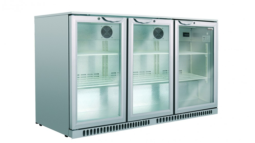 Buy Husky 307l Triple Door Back Bar Fridge Harvey Norman Au