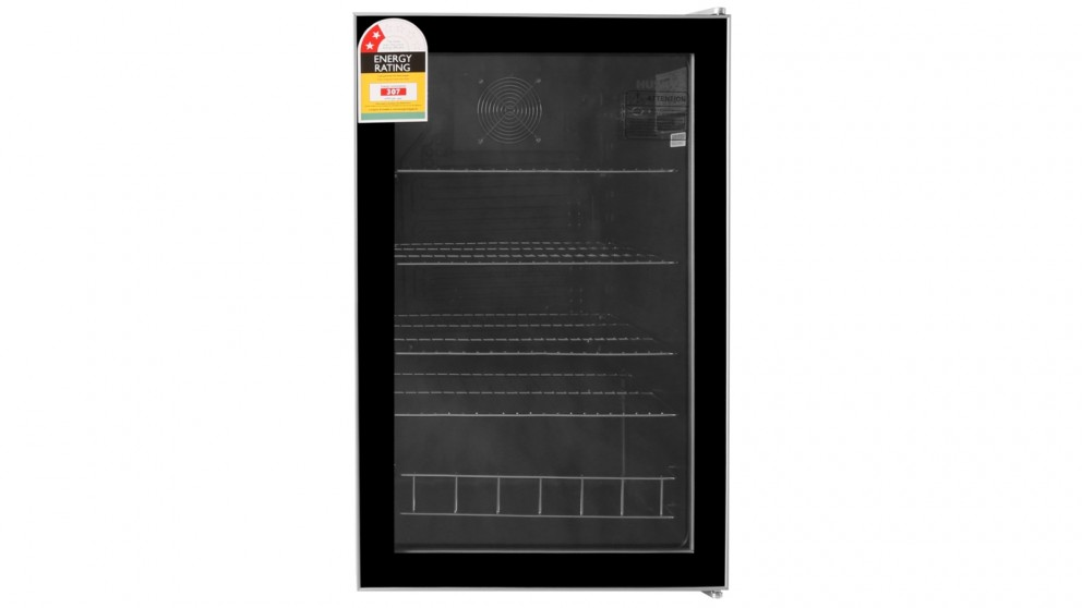Husky 130L Bar Fridge - Silver