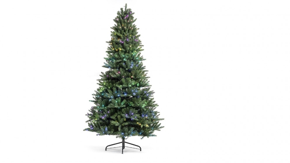 Twinkly App-Controlled Pre-lit Christmas Tree (7.5 ft) with 400 RGB+White LEDs