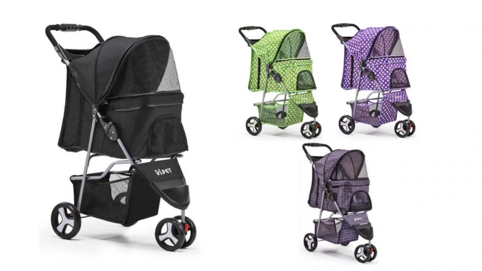 i.Pet 3 Wheel Pet Stroller