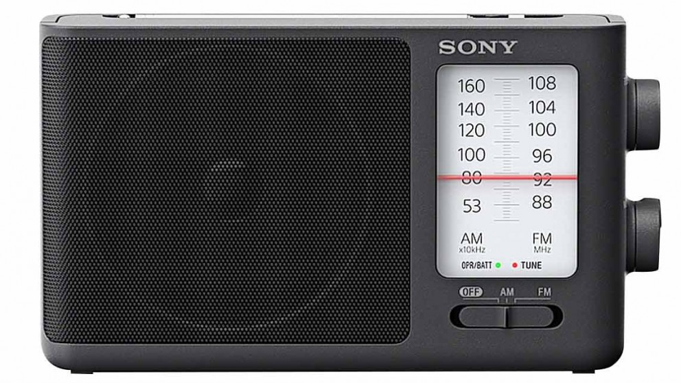 Sony Analogue Tuning Portable FM/AM Radio