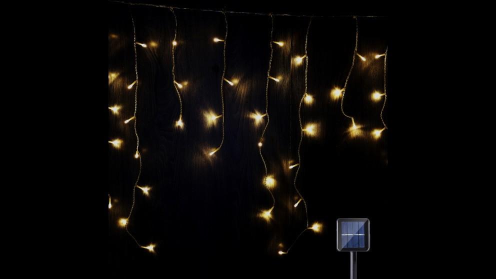 Lexi Lighting 480 LED Solar Icicle Light - Warm White