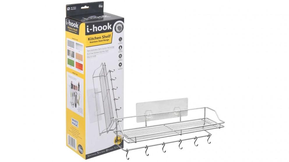 White Magic i-Hook Kitchen Shelf