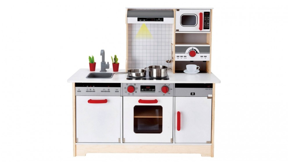 Hape 15 Pieces All In One Kitchen