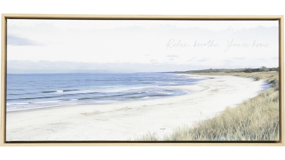 Splosh Island Breeze Island Framed Canvas - 94 x 44