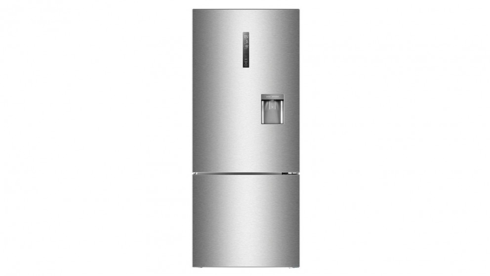 Haier 455L Bottom Mount Fridge - Brushed Silver