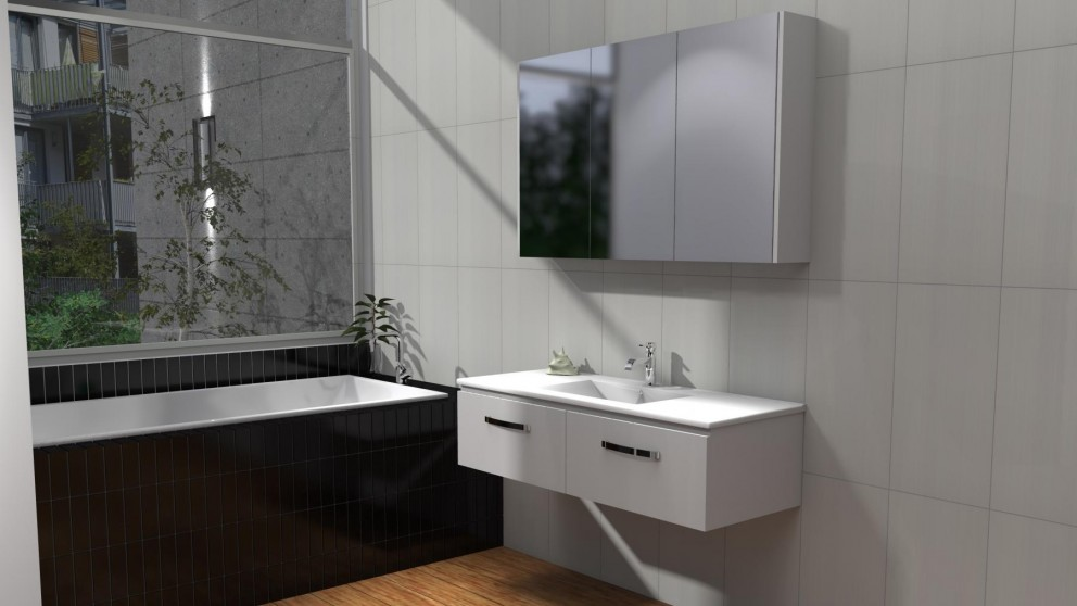 Timberline Cruize 1200mm Alpha Wall Hung Vanity