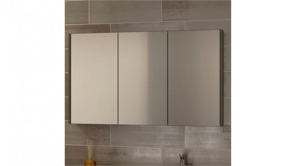 Buy timberline denver 1500 shaving cabinet white for Bathroom cabinets harvey norman