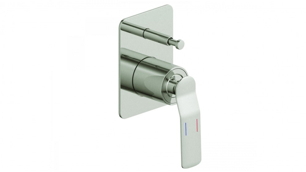 Arcisan Synergii Bath/Shower Mixer with Diverter - Satin Nikel PVD