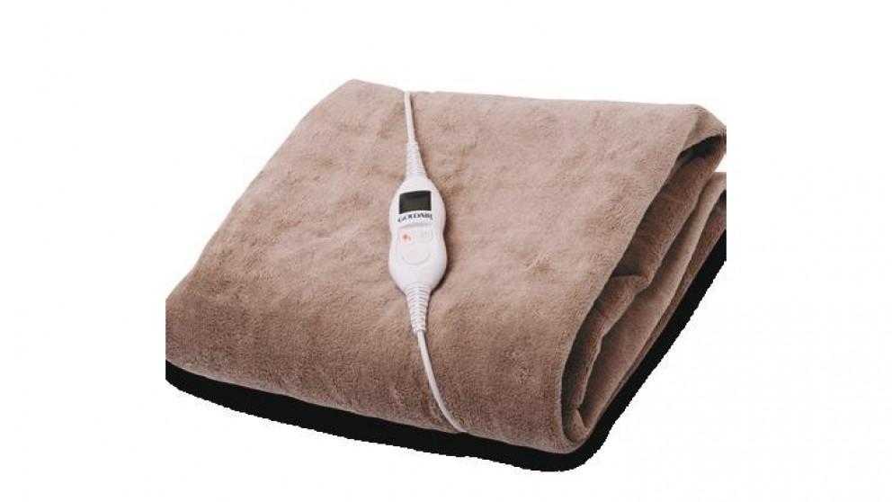 Goldair GEFT250 Heated Micro Fleece Electric Throw