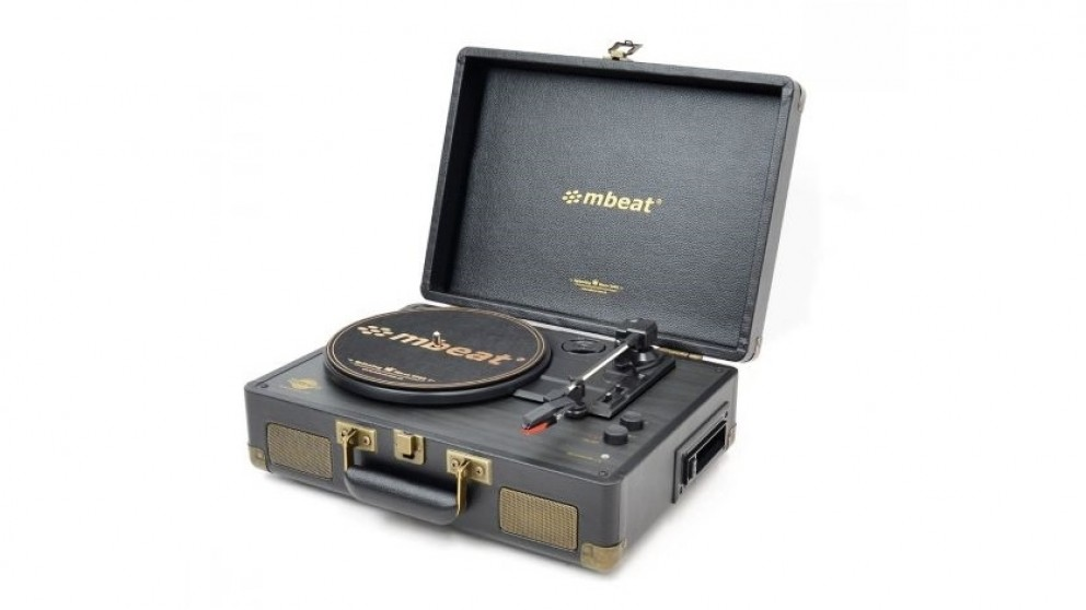 Mbeat Uptown Retro Turntable & Cassette Player