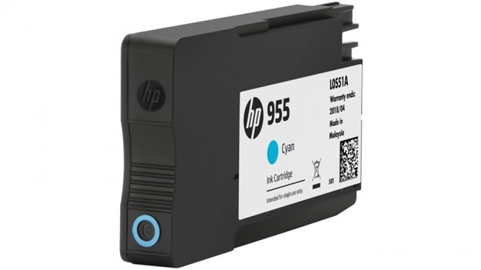 HP 955 Ink Cartridge - Cyan