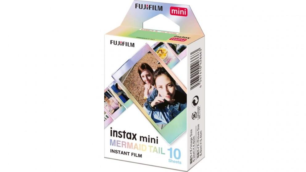 Instax Mini 10 Sheets Instant Film - Mermaid Tail