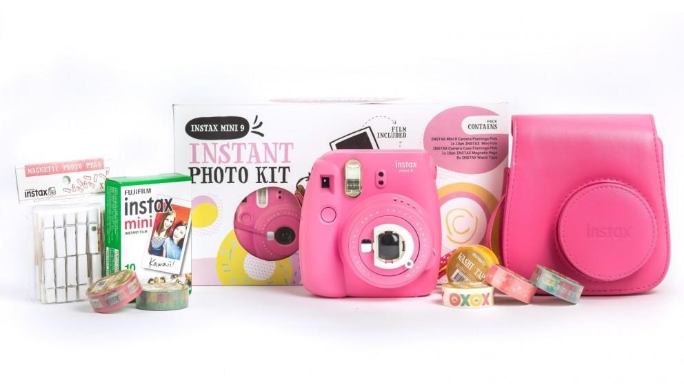 9f473bddbf72 Buy Instax Mini 9 Christmas Bundle - Flamingo Pink | Harvey Norman AU