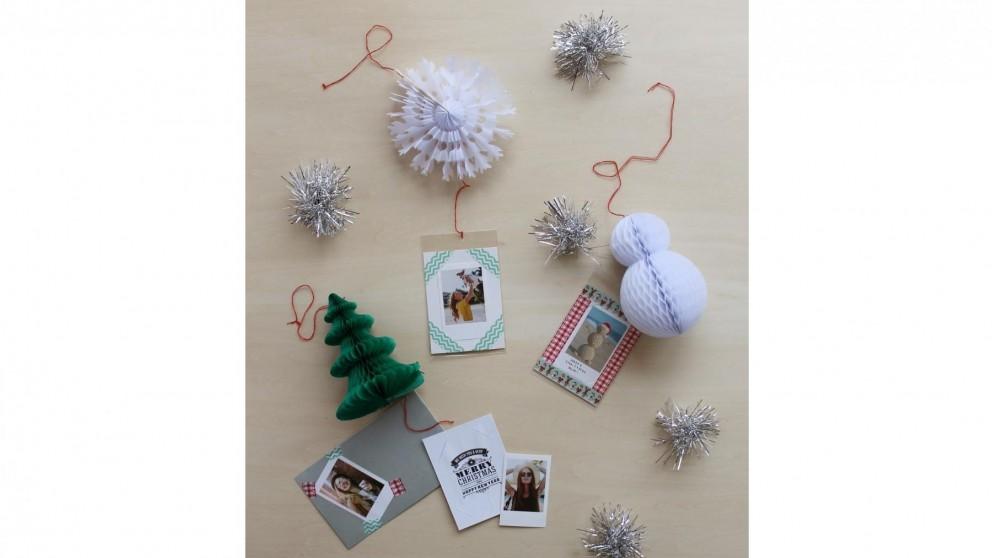 Instax Christmas Card - Snowman