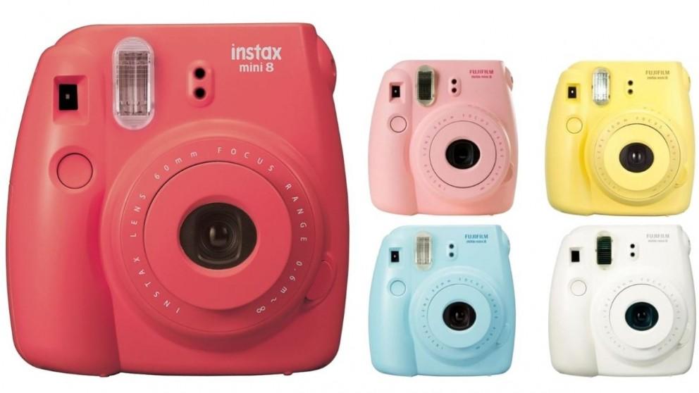 Fujifilm instax mini 8 instant camera harvey norman for Instax mini 8 housse