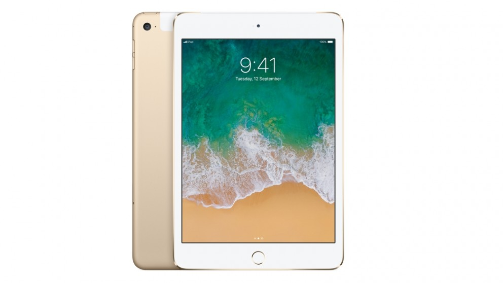 Apple iPad mini 4 Wi-Fi Cellular 128GB - Gold