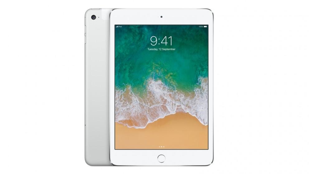 Apple iPad mini 4 Wi-Fi Cellular 128GB - Silver