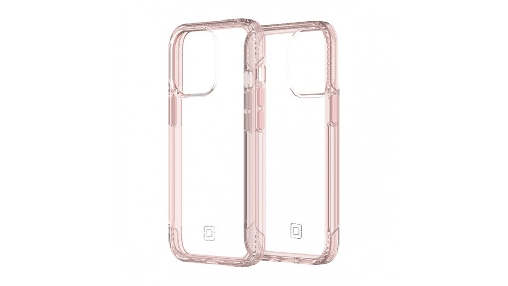 Incipio Slim Case for iPhone 13 Pro - Rose Pink/Clear