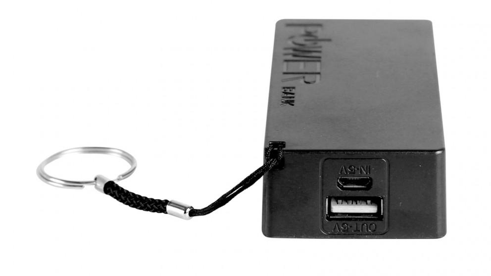 Inca 2400mAh Portable Powerbank - Black