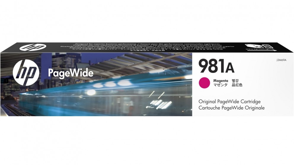 HP 981A PageWide Ink Cartridge - Magenta