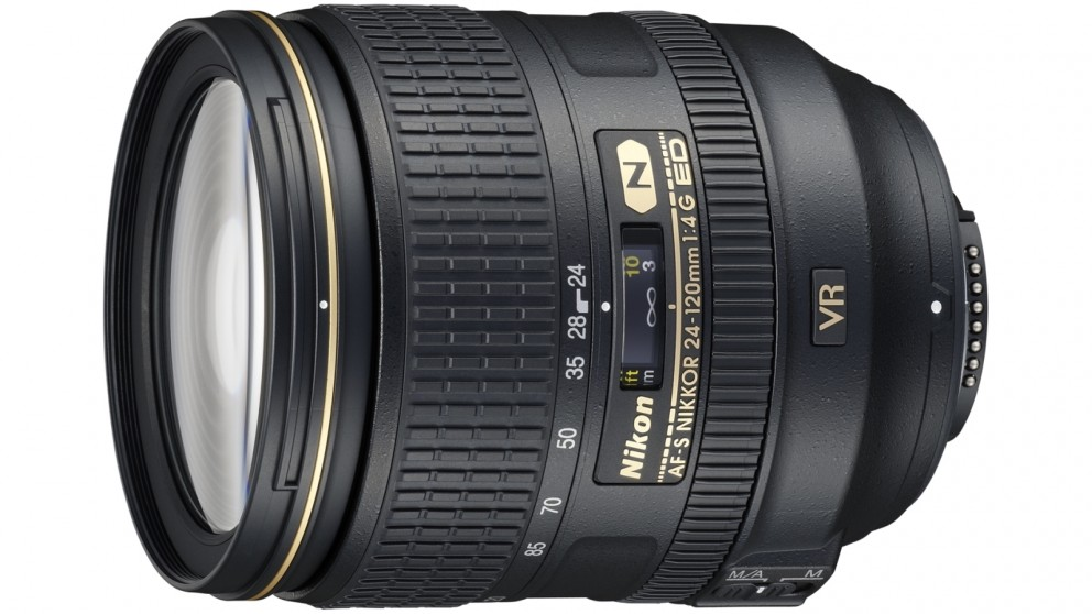 Nikon AF-S 24-120mm F4G IF ED VR Camera Lens