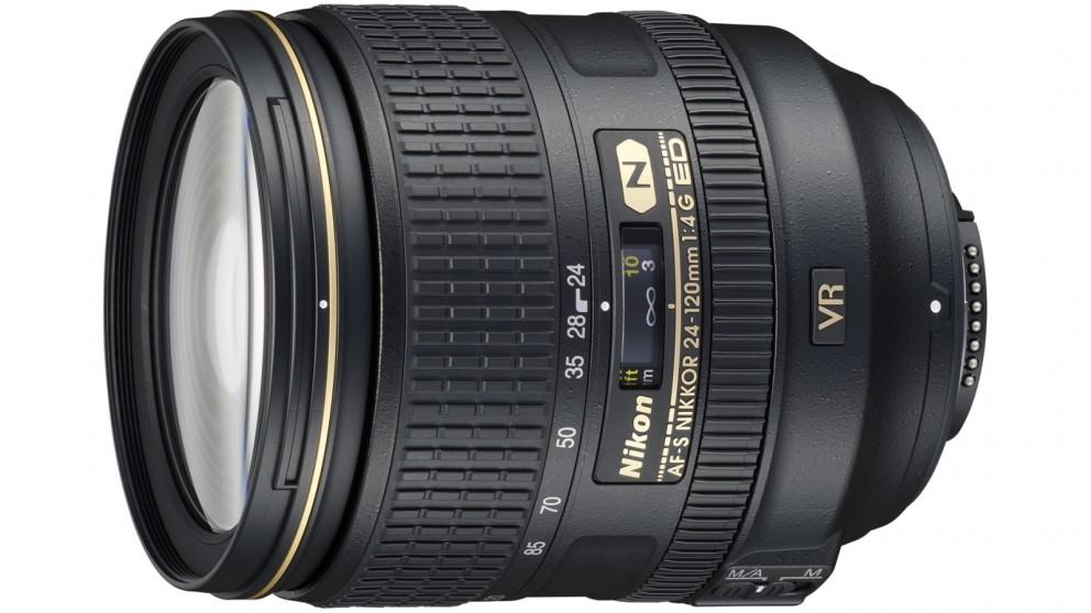 Nikon AF-S 24-120mm F4G IF ED VR Camera Lens
