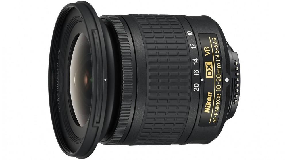 Nikon AF-P DX 10-20mm F/4.5-5.6G VR Camera Lens