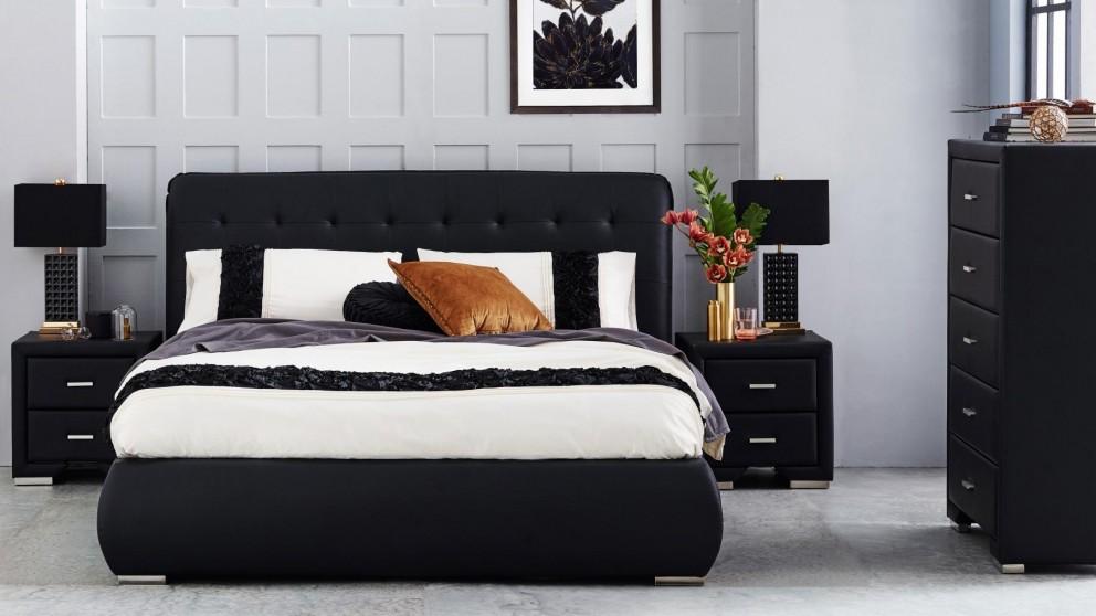 Jazz Queen Bed - Black